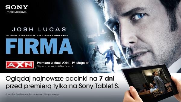 Firma na Sony Tablet S