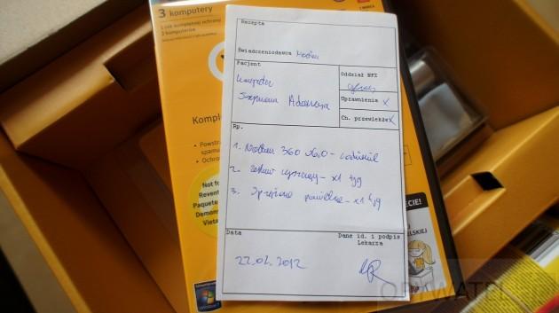 Symantec Norton 360 v6 recepta