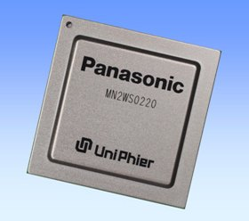 Panasonic LSI UniPhier MN2WS0220