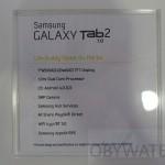 Samsung Galaxy Tab 2 7 cali - specyfikacje
