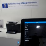 tablet obsługuje drukarkę