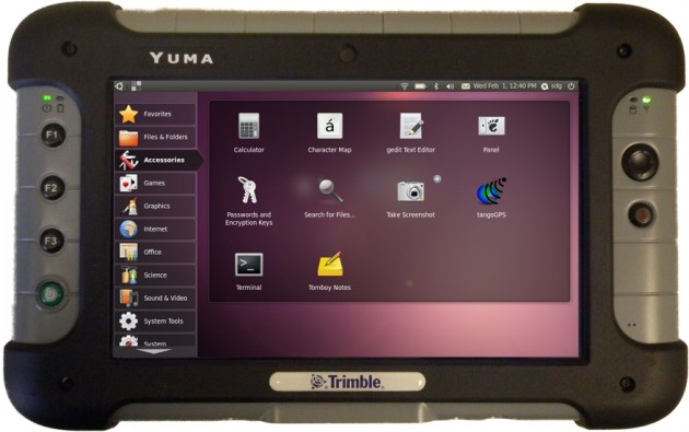 Trimble Yuma Linux 300