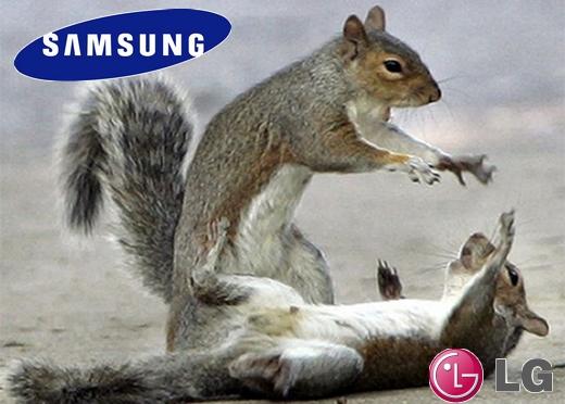 Walka na śmierć i życie - Samsung VS LG