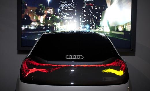 Audi OLED rój z tyłu