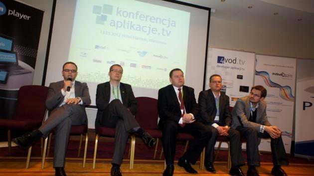 Konferencja aplikacje TV - panel dyskusyjny z producentami