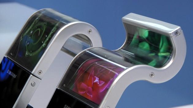 Giętki ekran Samsunga