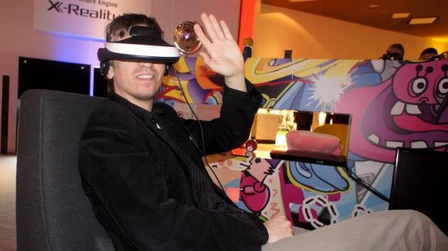 Konferencja Sony 2012 - HMZ-T1
