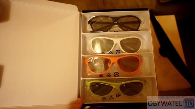 LG LM670S - na gorąco - okulary 3D