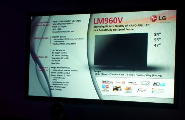 LG LM960V - do 84 cali