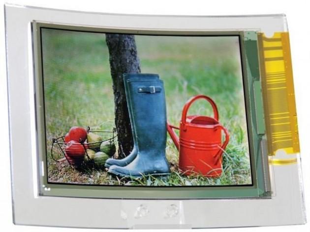 Giętkie LCD