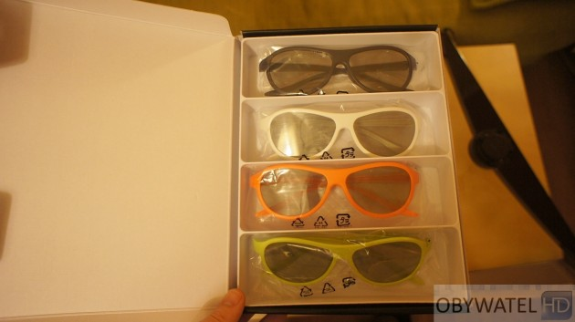 LG LM670S - okulary 3D