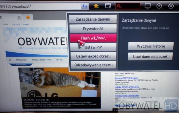 LG LM670S - internet - ObywatelHD.pl