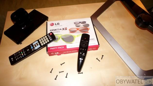 LG LM670S - zestaw