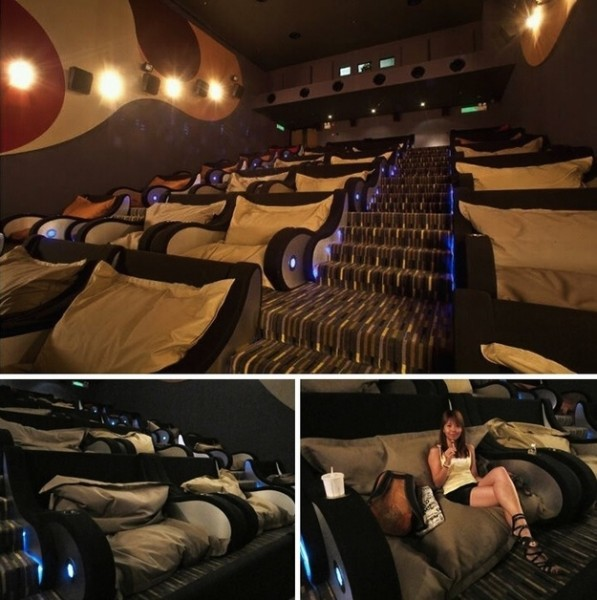 Prawdopodobnie najwygodniejsze kino świata