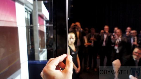 OLED LG jest cienki