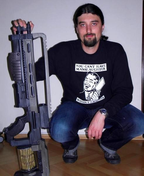 Piotr Gnyp - gun