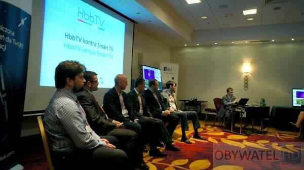 HbbTV Summit 2012 - panel dyskusyjny