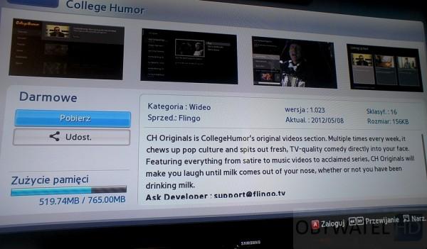 Samsung ES7000 CollegeHumor
