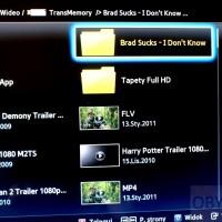 Samsung ES7000 Multimedia z USB lista