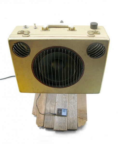 Suitcase Guitar Amp Stereo