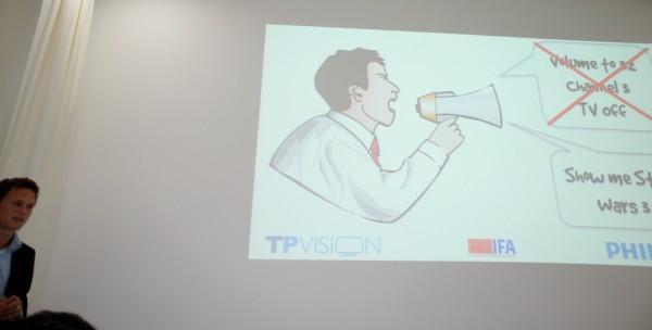 IFA 2012 Philips PFL9707 sterowanie gestem i głosem