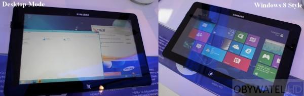 Samsung Smart PC Dekstop VS Windows 8 Style