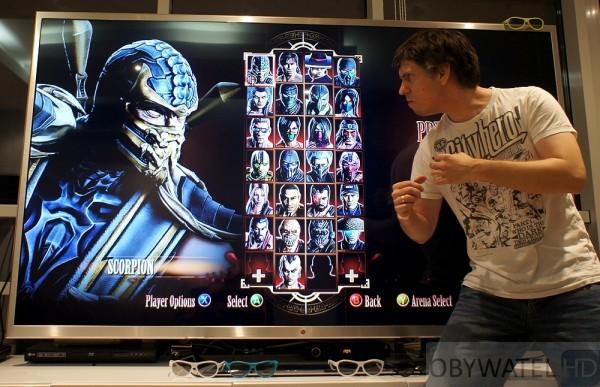 LG 84LM9600 - Mortal Kombat