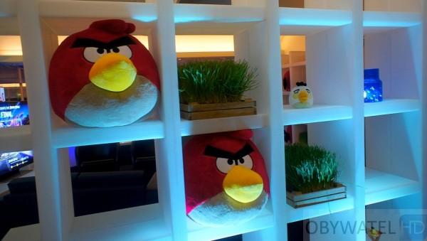 Angry Birds w londynie