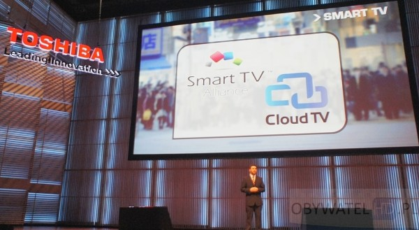 Toshiba World 2013 - Smart TV Alliance i Cloud TV