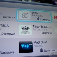 Cztery aplikacje kulturalne w Smart TV Samsunga