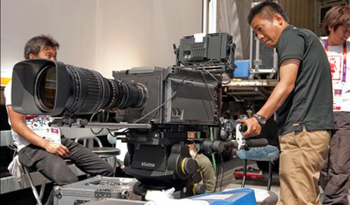Kamera 8K NHK