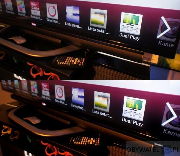 LG 2013 - obrotowa podstawa
