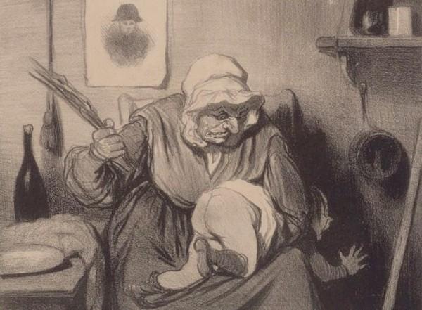 Le Toucher - Honoré Daumier