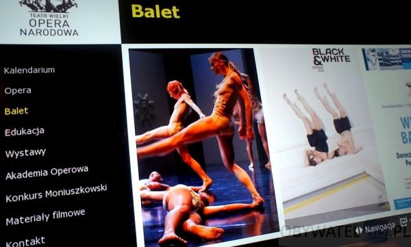 Teatr Wielki Opera Narodowa - balet