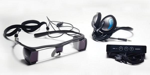 Okulary dla niesłyszących Sony