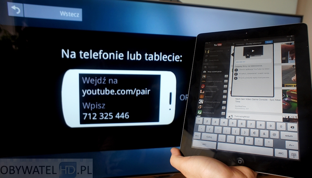 how to connect ipad to smart tv youtube