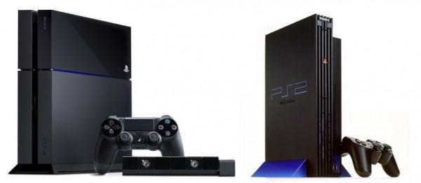 PS4 VS PS2