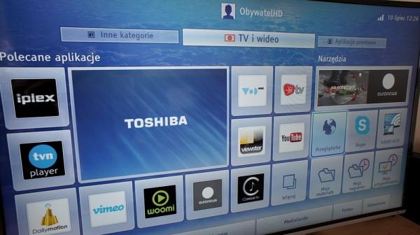 Toshiba 58L7365 - menu