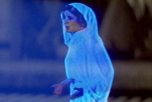 holograficzna Leia