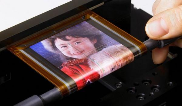 Giętki OLED