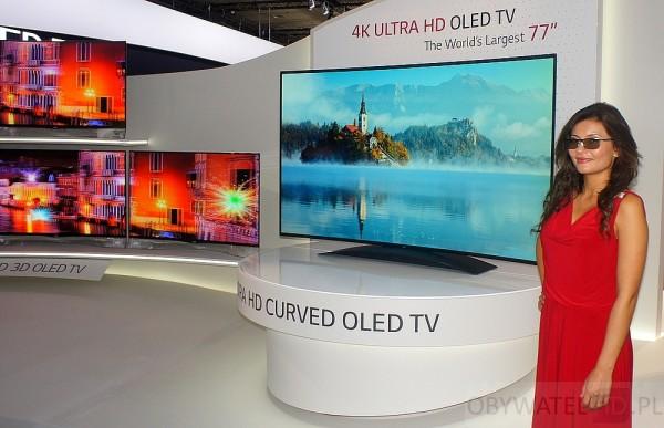 IFA 2013 - LG OLED 4K