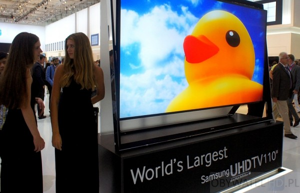 IFA 2013 - Samsung UHD 110 cali