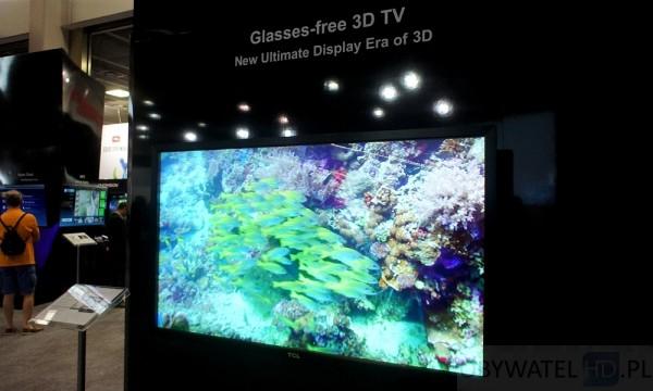 IFA 2013 - TCL 3D bez okularów