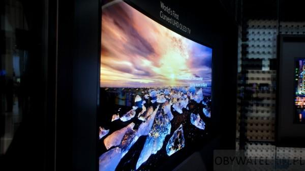 Samsung curved 4K OLED