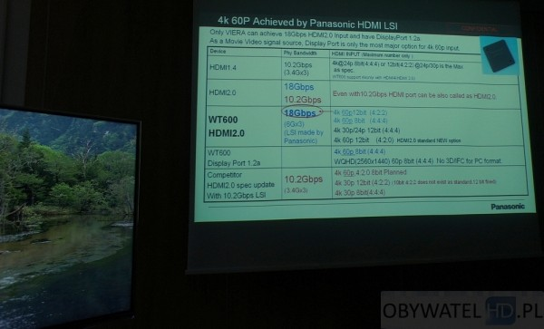 Panasonic TX-L65WT600 - HDMI 2.0