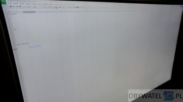Toshiba L9363DG - arkusz kalkulacyjny 4K
