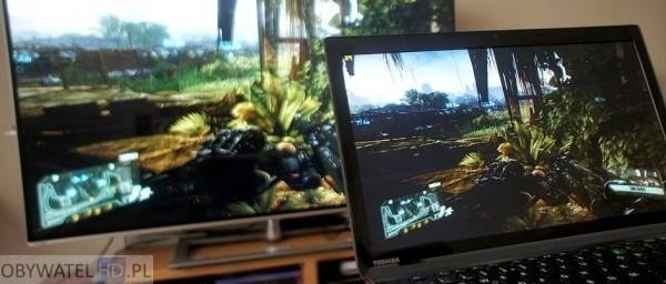 Granie na PC Toshiba