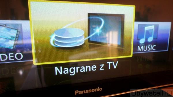 Panasonic TX-P55VT30 Nagranie z TV