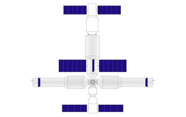 Planowana stacja orbitalna Chińczyków Fot. Wikimedia