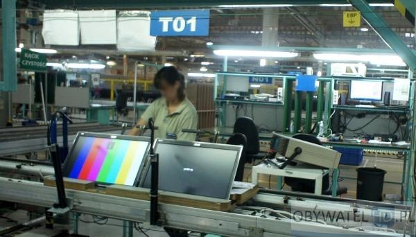 TCL - linia produkcyjna